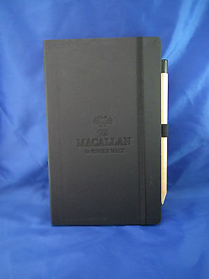 The MACALLAN SINGLE MALT Whisky Notebook with Pencil NEW