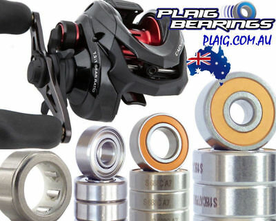 Shimano Caenan Bearing Kits Baitcaster Stainless Steel and Ceramic Hybrid