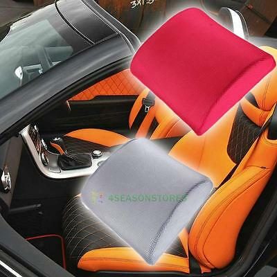 Ankle Knee Leg Lumbar Back Wedge Support Pillow Cushion Memory Foam For Car Seat
