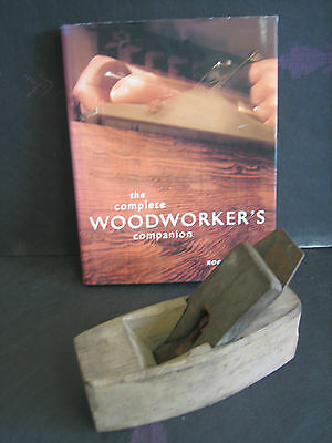 VINTAGE WOODWORKING PLANE by J BUCK CAST STEEL COFFIN SMOOTHER STYLE