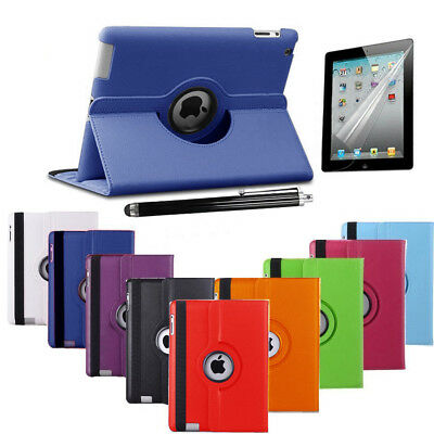 Leather 360 Degree Rotating Smart Stand Case Cover APPLE iPad PRO MINI2-3-4 Air
