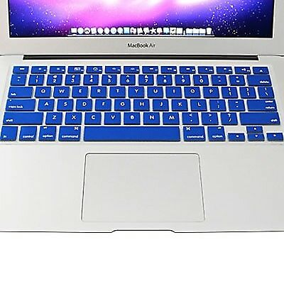 NUOVO Blue ENKAY for MacBook Air 11.6 inch (US Version) Colorful Silicon Soft K
