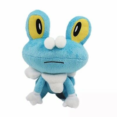 "7"" Pokemon Froakie Collectible Plush Character Soft Toy Stuffed Doll Teddy Gift"