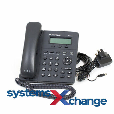 ☆ Grandstream GXP1400 SIP Phone with PSU I 12 Month Warranty