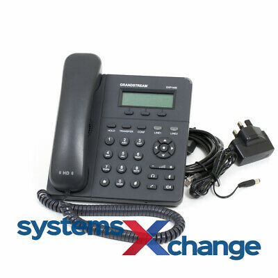 Grandstream GXP1400 SIP Phone with PSU 12 Month Warranty Inc VAT & Delivery