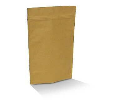 NEW  Brown kraft coffee pouch 250G