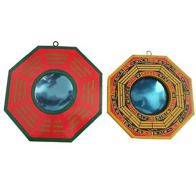 Feng Shui I-Ching Bagua Chinese Mirror Concave 12cm / Convex 10cm Gift Occasions