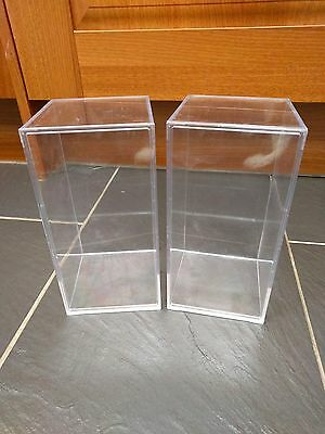"Ty Plastic Storage Display Cases 8"" X 4"" X 4"" (2 Supplied)"