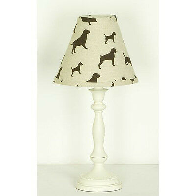 Houndstooth Lamp and Shade - HTLP