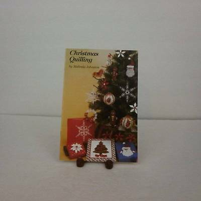 Christmas Quilling by Malinda Johnston Book 11 Holiday Designs  NEW