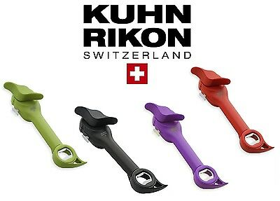 Kuhn Rikon Auto Safety Master Lid Lifter Can Opener Red/Black/Purple/Green