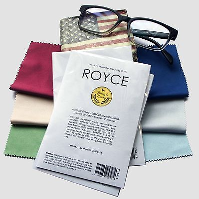 Six Microfiber Cleaning Cloth for LCD screen,Camera Lens, Glasses ROYCE
