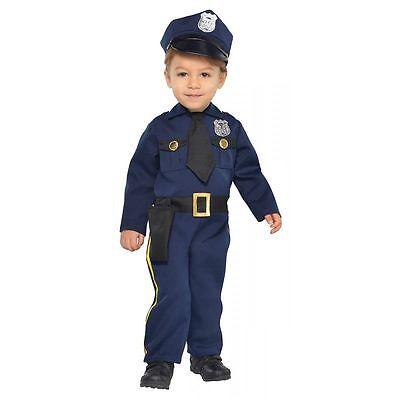 Cop Recruit Costume - Baby 6-12 months