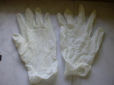 20 Pairs of protective gloves - LATEX - Size L