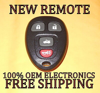 NEW GM REPLACEMENT KEYLESS ENTRY REMOTE FOB TRANSMITTER 15252034 KOBGT04A