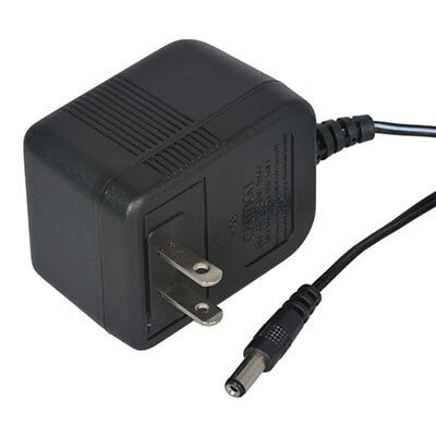 Universal 12 Volt AC Wall Adapter Transformer with Male 3.5mm straight plug