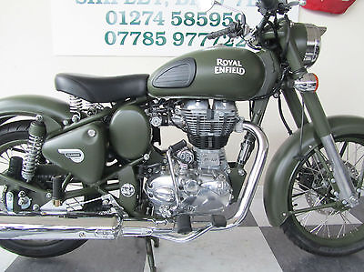 Royal Enfield Classic 500 Battle Green Last One !
