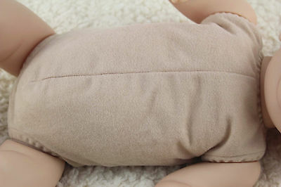 "19""-20"" reborn baby doll body cloth doe suede for full limbs arms and legs kits"