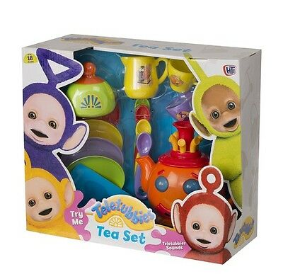 Teletubbies Tea Set with Lights and Sounds Teapot Musical Toy Age 18 months +