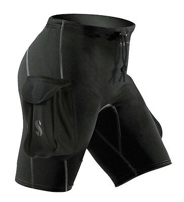Scubapro Hybrid Shorts with Cargo Pockets 63-170 Dive Wear Pants Snorkeling