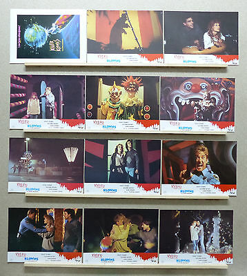 Killer Klowns from Outer Space Grant Cramer Suzanne Snyder Lobby Set Spain 1988