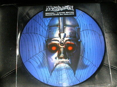 """12"""" picture disc MARILLION grendel LIMITED VINYL RECORD STORE DAY 2013"""