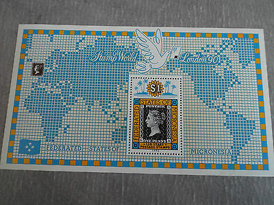 BF neuf MICRONESIE 1990 : 150 years postage stamps