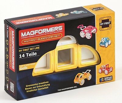 MAGFORMERS - My First Buggy GELB - Konstruktionsmaterial (274-42)