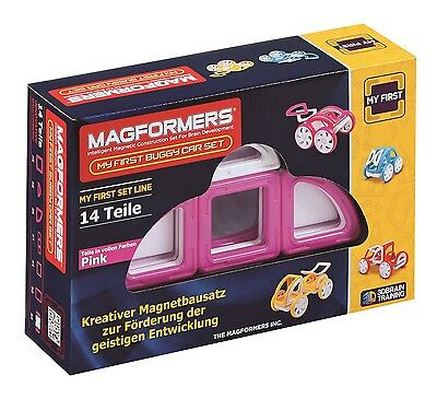 MAGFORMERS - My First Buggy PINK - Konstruktionsmaterial (274-45)