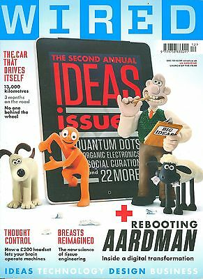 WIRED magazine 12/10 feat. Aardman, precision farming, Epoc headset, Fable III