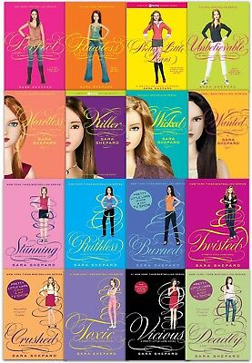 Sara Shepard Pretty Little Liars Collection 16 Books Set Wicked, Killer, Toxic