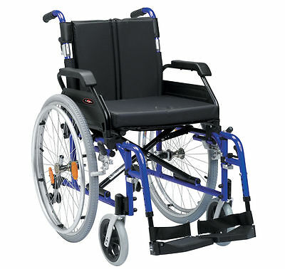New Drive Enigma XS Lightweight Portable Self Propel Propelled Wheelchair