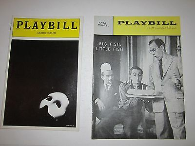 20 Vintage Playbill Theatre Booklets - Nice Collection - See Pics - Tub Qqq