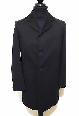 CULT VINTAGE '40 Cappotto Frac Tait Uomo Smoking Tuxedo Man Coat Sz.XS - 46