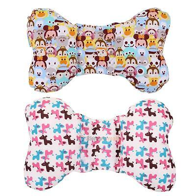 Infant Baby Anti Roll Sleep Pillow Positioner Prevent Flat Head Nursing Bedding