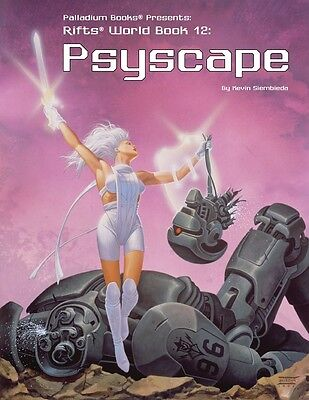 Rifts RPG: World Book 12 Psyscape PAL 0822