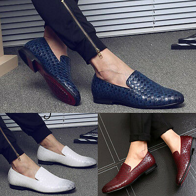New Fashion Mens Slip On Loafer Comfy Moccasins Driving Shoes Casual Sneakers