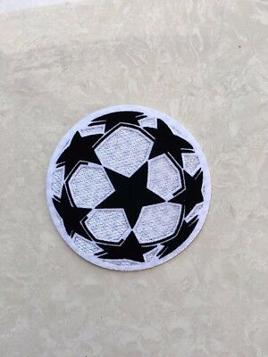 77mm UCL UEFA Champions League Star Ball Patch Badge Flicken Parche Toppa Pièce