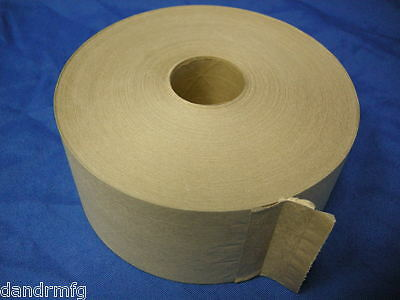 NEW VENOM II WATER ACTIVATED TAPE REINFORCED 70mm x 450ft NATURAL K9001