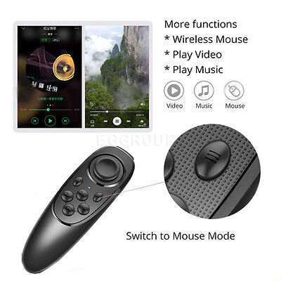 Hot Wireless Bluetooth Gamepad Game Remote Controller For iOS Andriod VR Box TV