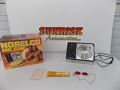 Vintage Norelco Mr.sun & Heat Lamp Hb 4000 Complete In Box Excellent Condition !