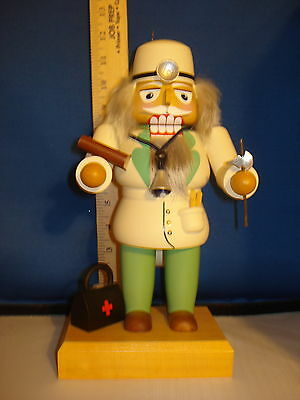 Nutcracker Wooden Doctor German Old World Christmas 12 inches 07273  240