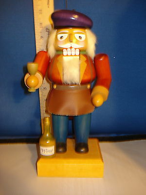 Nutcracker Wooden Wine Maker German Old World Christmas 11 inches 772325  240
