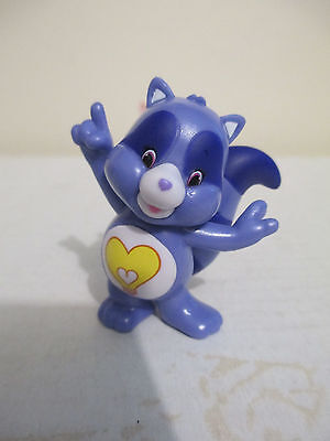 "Care Bears & Cousins Series 4 2"" Bright Heart Raccoon Collectible Mini Figure"