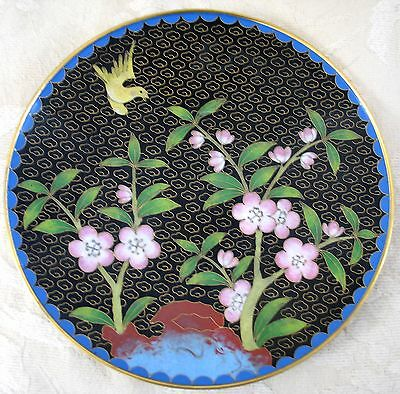 BEAUTIFUL Vintage Chinese Cloisonne Plate