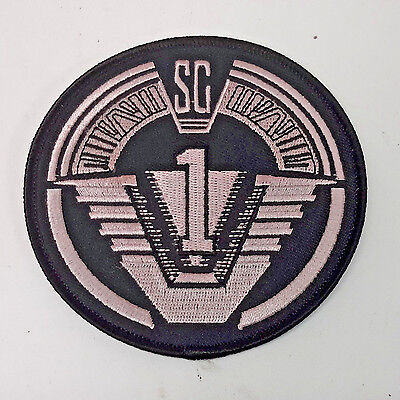 "Stargate SG-1 Screen Accurate Logo 4"" Uniform Patch- FREE S&H  (SGPA-04)"