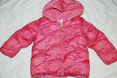 Pink Winter Jacket with Hood for Toddler Girl 3 Years 3T yy
