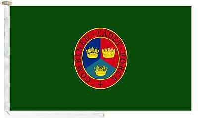Combined Cadet Force CCF Roped & Toggled 2 Yard Courtesy Boat Flag.