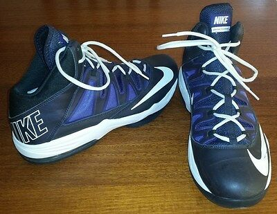 """Nike Max Air Basketball Shoes: US Size 12 """"AS NEW CONDITION"""" Toe to Heal 30cm"""