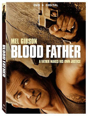 Blood Father Dvd - Single Disc Edition - New Unopened - Mel Gibson